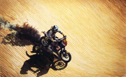 Dakar-Acrylic-painting