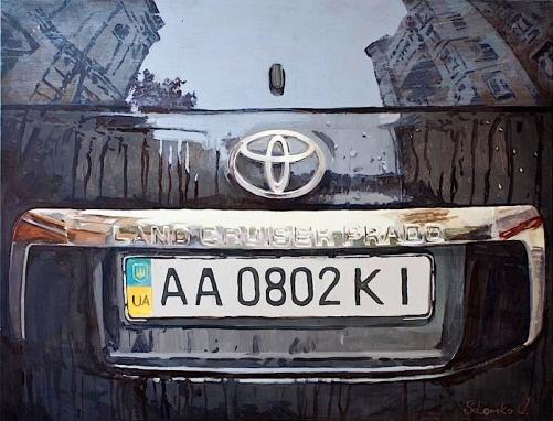 Toyota-reflection-acrylic-painting