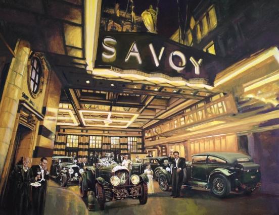 Bentley-number-1-acylic-painting