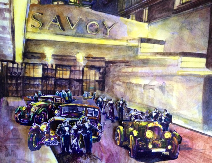 Savoy sketch