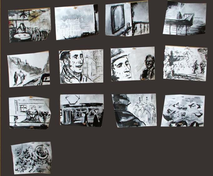 Ionesco - a storyboard sketch