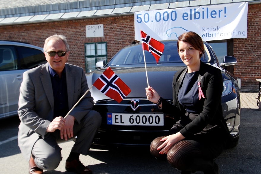Norway reached a planned 50 000 non-gas cars by 2015
