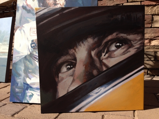 Senna original painting acrylic on canvas