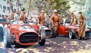 Monaco 59 - original painting acrylic on canvas