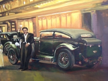 Bentley #1 - original painting acrylic on canvas