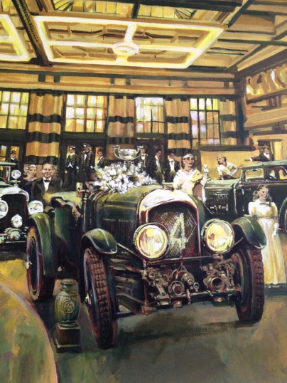 Bentley #1 - original painting acrylic on canvas