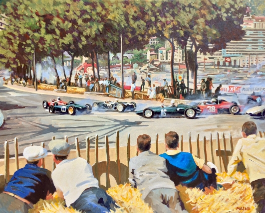 Monaco Dream 20x16
