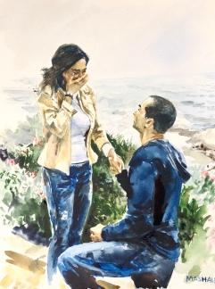 Watercolor Portrait