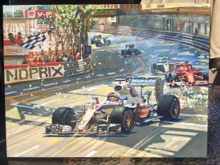 Monaco Race - Hamilton