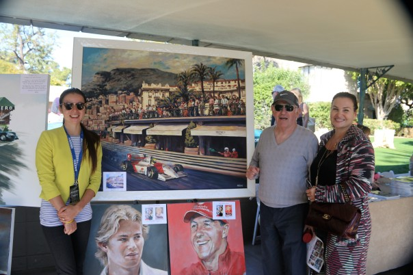 Senna Painting - finds new home